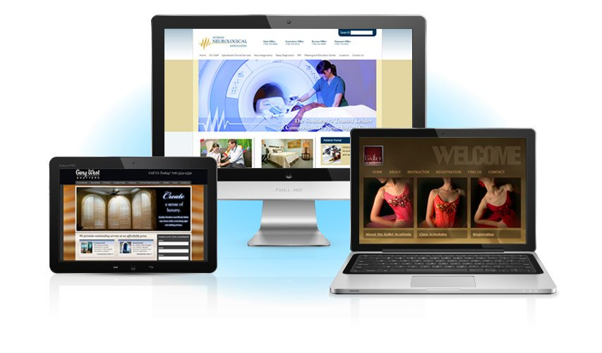 Comprehensive website design from concept to completion.